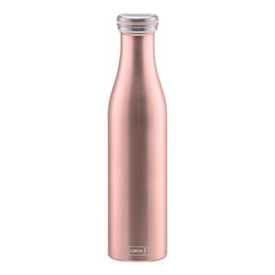 Smrekovec fľašu termosky tepelnej ružové zlato 750 ML
