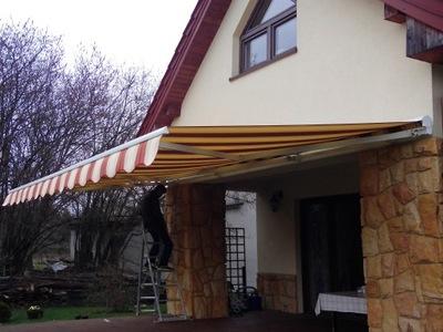 Markiza Osłona Pionowa Balkon Tarasowa 240x140 Cm