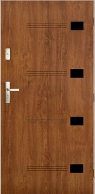 двери Внешние RUS gr 72мм Эпсилон 80 Орех Дуб