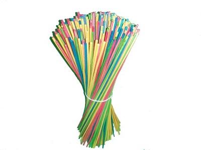 палочки ??? сахарной Ваты цветные Аттестат 100шт
