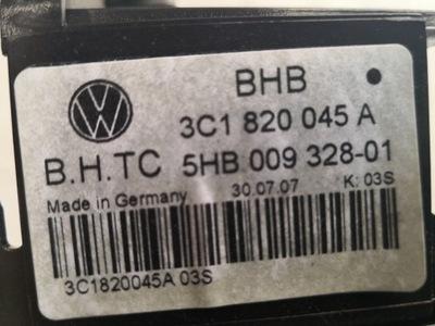 панель обдува кондиционера vw passat b6 3c1820045a, фото 3