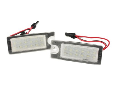 ПОДСВЕТКА LED (СВЕТОДИОД ) НОМЕРА VOLVO S60 S80 V70 XC90