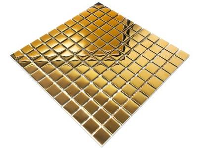 Мозаика СТЕКЛЯННАЯ GOLD ЗОЛОТОЙ МЕТАЛЛИК 30x30cm 8 ??
