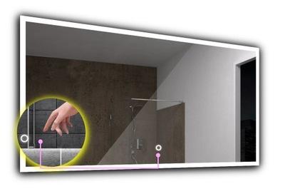 зеркало ПОДСВЕТКА LED +сенсорный экран, 80x60 Бостон