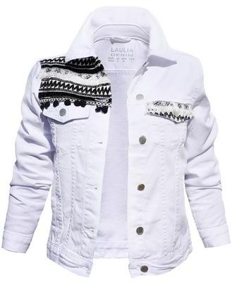609e660acddf0 Kurtka damska katana jeans jeansowa 3006 roz S 7497718305 - Allegro.pl