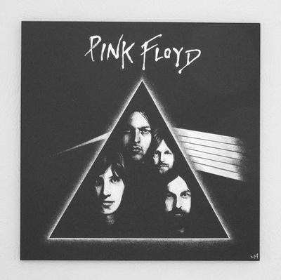 Pink Floyd Изображение вручную гравированный в противень ...