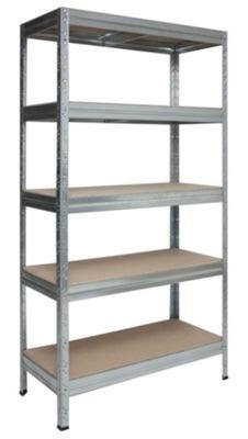 Стеллаж металлический позиция для подвал 180x90x45/5P