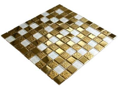 Мозаика стеклянная золота gold BRILLAR глянцевая