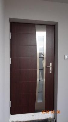 двери WIKĘD термо PRESTIGE LUX Узор  37 С МОНТАЖОМ