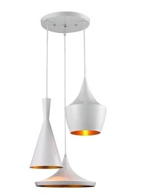 ЛАМПА подвесной светильник EDISON чердак INDUSTRIAL КОСТА - 3 ЗОЛОТА