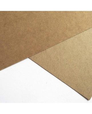 Papier karton Eko Kraft 160g 100ark A4 Brązowy