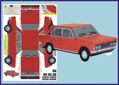 Модель для dzieci_FIAT 125p_Extra Модель