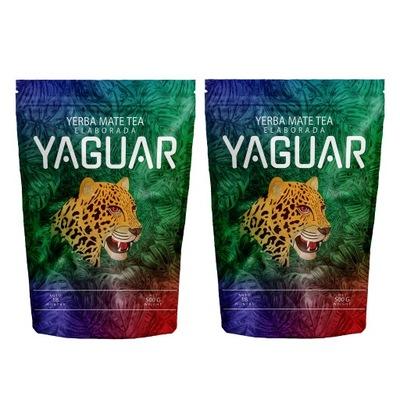 Yerba Mate Yaguar Elaborada классическая 1kg 1000g
