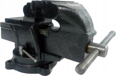 ТИСКИ СЛЕСАРНЫЕ 125 мм поворотные с наковальней