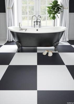 плитки 60X60 белая черная мат шахматная доска