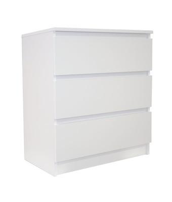 КОМОД КОКО, ШКАФ, Салон белая 3 ящик