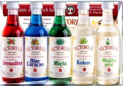 сироп VICTORIA'S ?????????? ??? напиткам КОКТЕЙЛЬ 5x50