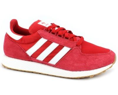 the latest ceee9 e6f9c Adidas Forest Grove 44 czerwone męskie buty B41530