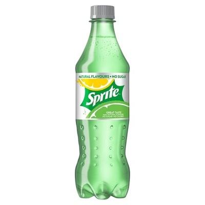 Sprite Zero 12x500ml упаковка ??? сахара