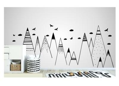 Steny kotúča, HORY, oblaky, vtáky 220 cm FARBY