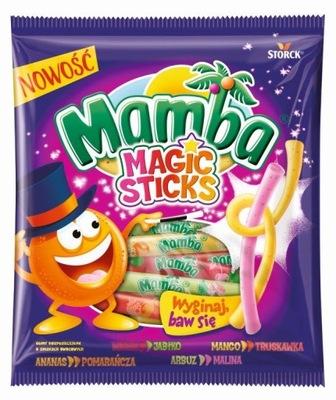 резинка Мамба Magic Sticks 150 г новинка
