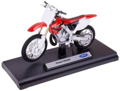 Honda CR250R МОДЕЛЬ Металл /пластик Welly MOTOR 1 :18