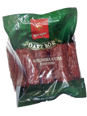 Колбаса охотничья сухой с мясом Соколов