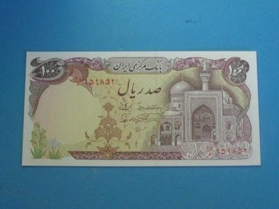 Иран Банкнота 100 Rials P-135 1982 UNC !