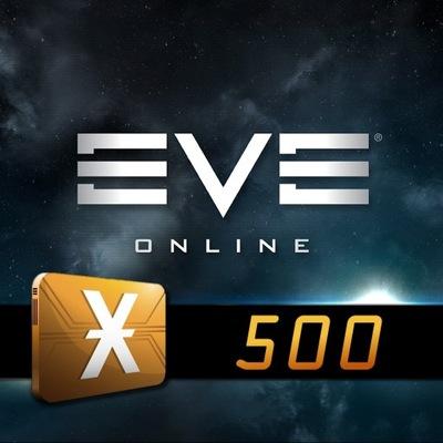 EVE Online 500x PLEX - 30 dni OMEGA