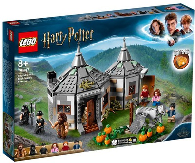 LEGO HARRY POTTER Hagrid Chata 75947