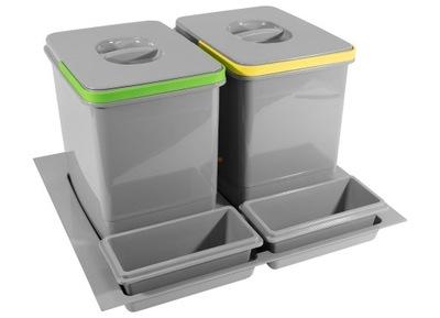 Корзина Связыватель для мусора 60 2x15L MULTINO