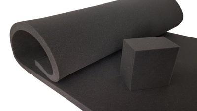 Пена губка черная кусочки НА ЛЮБОЙ РАЗМЕР T25