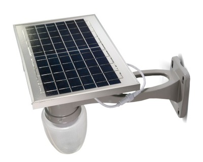 Solárne lampy SOLÁRNE LED 6W PREMIUM nástenné SVIETIDLO + diaľkové ovládanie