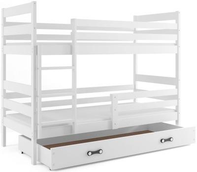 кровать ЭРИК двухъярусная кровать Яцек 190x80 + МАТРАС цвета