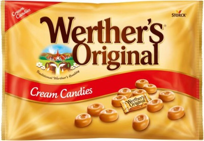 Werthers Original Candy мега упаковка 1kg из Германии