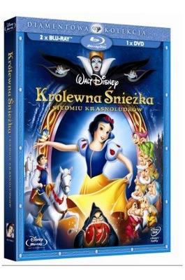 Disney KRÓLEWNA ŚNIEŻKA 2 Blu-ray + 1 DVD