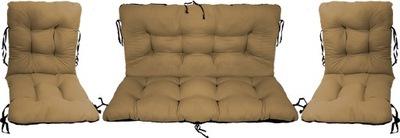 Подушки на мебель Ротанг РОТАНГА комплект 2 +1 БЕЗ