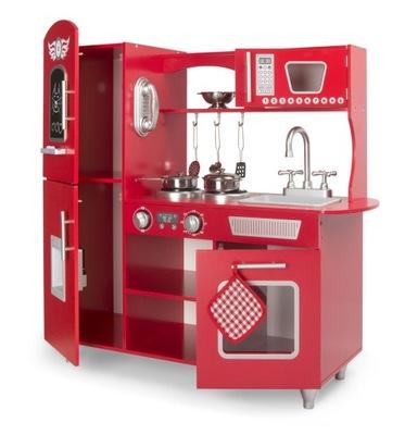 Drevené kuchynské pre deti s Veľkými Červenými axe. 246218
