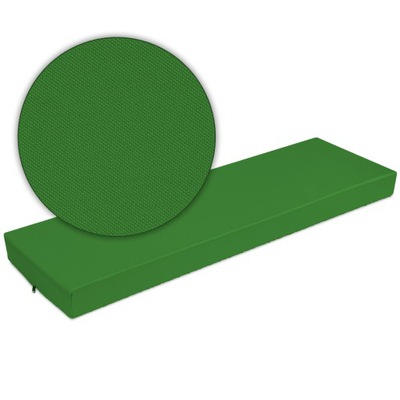 подушка на мебель из поддонов поддоны 120x40x8 зеленый