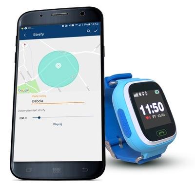 Smartwatch GPS Pre Deti CALMEAN + SIM