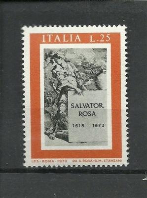 Włochy 1973 Znaczek Mi 1393 ** Rosa muzyka malarz