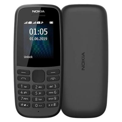Telefon Nokia 105 2019 Dual SIM Radio Gry Snake