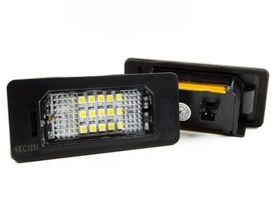 ЛАМПОЧКИ LED (СВІТЛОДІОД) НОМЕРНОГО ЗНАКА VW PASSAT B6 УНІВЕРСАЛ AUDI A4 B8
