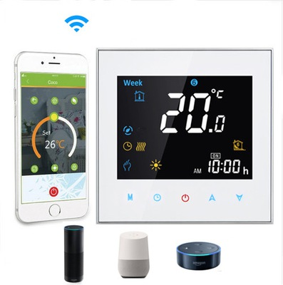 Dotykový WiFi izbový termostat kotla GC3W zALEXA