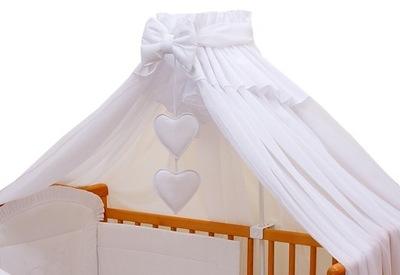 Москитная сетка Балдахин укрывает целые кроватка - Белый