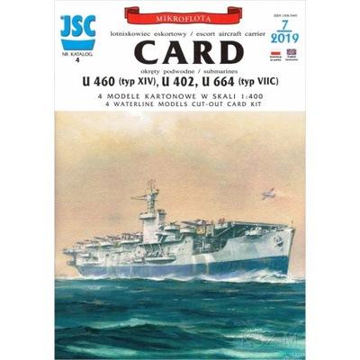 ОАО-004 - Американский авианосец CARD 1 :400