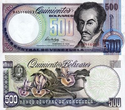 # ВЕНЕСУЭЛА - 500 BOLIVARES - 1998 - P67f - UNC