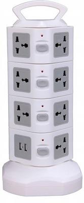 Wieża listwa 15 gniazdek 230V MAXLED SMART USB