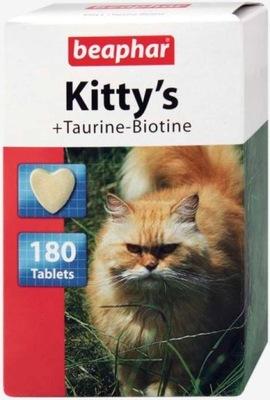 Beaphar kitty-milk, kitty-milk Kitty'S Таурин Биотин - деликатес 180tab