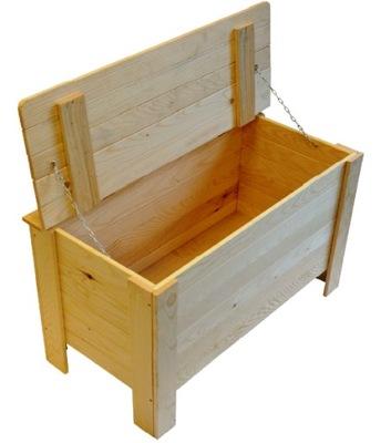 drevený BOX s vekom ZÁSUVKY HRUDNÍKA 51x80x39
